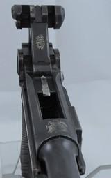 """DWM 1903, """"Fat Barrel"""" American Eagle Luger Cal. 9mm, Ser. 229XX - 10 of 11"""