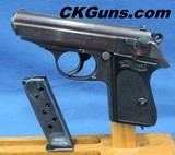 """Walther PPK """"1944, Late War Time Commercial"""" Cal. .32 ACP, Ser. 4201XX K. Absolutely MINT!!!!"""