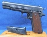 "Colt (Black Army) U.S. 1911, Cal. .45 ACP, Ser. 4723769, Mfg 1918. ""An awesome MYSTERY!!!"" - 2 of 9"