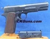 "Colt (Black Army) U.S. 1911, Cal. .45 ACP, Ser. 4723769, Mfg 1918. ""An awesome MYSTERY!!!"""