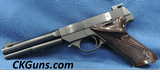High Standard Supermatic, Mdl S-101, Cal. ,22 LR.Ser. 4852XX. MFG 1954.