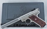 Ruger Mk III Stainless 6.8' Barrel Competition Target Model Ser. 227-42xxx