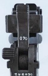 Mauser C-96 Cal. 7.65, Ser. 174670. OPTIONAL HOLSTER STOCK - 6 of 12