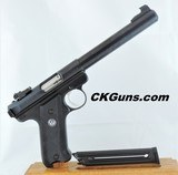Ruger Mark II Target, Cal. .22 LR, Ser. 210-194XX.