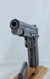 "Kongsberg ""Colt"" (Nazi ""Pistole 657(n)"") 1914, Cal. .45 acp. Dated 1941 - 6 of 10"
