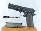"Kongsberg ""Colt"" (Nazi ""Pistole 657(n)"") 1914, Cal. .45 acp. Dated 1941"