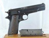 "Kongsberg ""Colt"" (Nazi ""Pistole 657(n)"") 1914, Cal. .45 acp. Dated 1941 - 3 of 10"