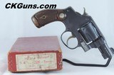 Smith & Wesson (S&W) Terrier (Pre. 32/38), Cal. .38 S & W, Ser. 56345. Mfg. late 1940s