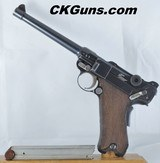 DWM Marine Luger 1904 Cal. 9mm, Ser. 1870. Rare and very early 1904!