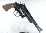 SMITH & WESSON, MDL. PRE-23, 38/44 OUTDOORSMAN, N FRAME,  MFG. 1955. CAL. 38 SPEC. SER. S 146114. MINTY, AND RARE!! - 5 of 13