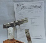 amazing colt 1903, cal. 32acp, ser. 482919, nothing on this colt lettered gun indicates it has ever been fired.