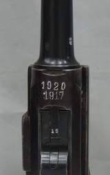 DWM (LUGER) P-08, SER. 1315M. DATED 1917/1920.A BUDGET PRICED P.08!! - 11 of 14