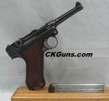 DWM (LUGER) P-08, SER. 1315M. DATED 1917/1920.A BUDGET PRICED P.08!! - 1 of 14