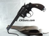 RAREU.S. 1899SMITH AND WESSON.38 MILITARY,CAL. .38 S &W LONG,SER. 13465. RARE HOLSTER INCLUDED!!!
