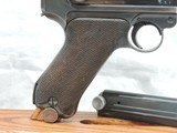 A BEAUTY, MAUSER (42) RIG, LUGER, P-08, CAL. 9MM, SER. 9541z. DATED 1940. - 7 of 17