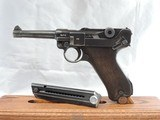 A BEAUTY, MAUSER (42) RIG, LUGER, P-08, CAL. 9MM, SER. 9541z. DATED 1940. - 2 of 17