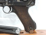 A BEAUTY, MAUSER (42) RIG, LUGER, P-08, CAL. 9MM, SER. 9541z. DATED 1940. - 3 of 17