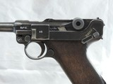 A BEAUTY, MAUSER (42) RIG, LUGER, P-08, CAL. 9MM, SER. 9541z. DATED 1940. - 4 of 17