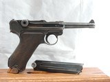 A BEAUTY, MAUSER (42) RIG, LUGER, P-08, CAL. 9MM, SER. 9541z. DATED 1940. - 6 of 17