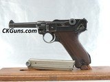 GREAT, MAUSER LUGER S/42 P-08,CAL 9MM, SER. 7094 o. MFG. 1937.