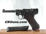 PRISTINE, MAUSER LUGER P.08,S/42, CAL 9MM, SER. 6528V. MFG. 1937. RACK QUEEN!!!