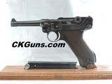"""MAUSER P.08 LUGER """"S/42"""", 9MM, SER. 6349o, MFG. 1939.LOVELY CONDITION!!!"""