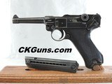 """VERY RARE, MAUSER,""""BLACK WIDOW""""BYF, LUGERP.08,DATED. 41, CAL. 9MM. SER. 8414q. AWESOME CONDITION!!! VAULT WIDOW!!!"""