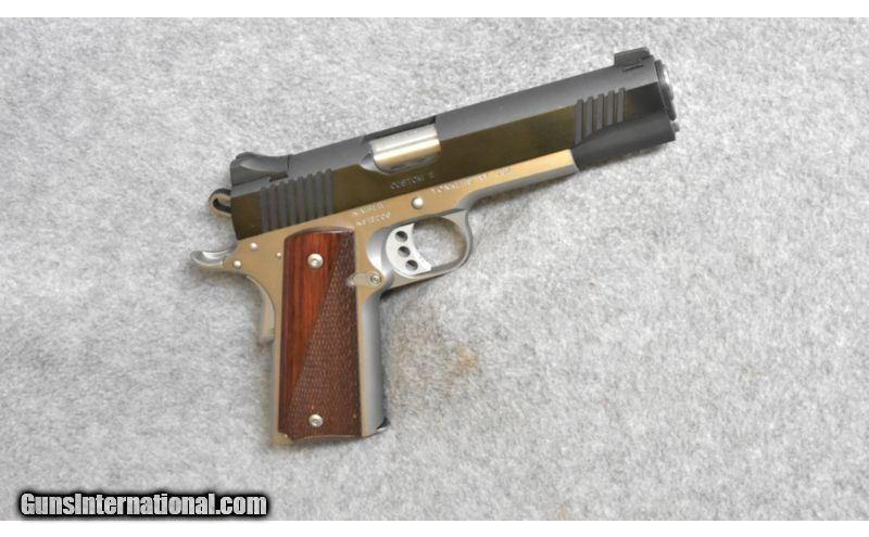 Kimber ~ Custom II ~  45 ACP
