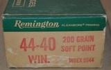 Remington 44-40 Win 200 Grain Soft PointGreen box - 2 of 8