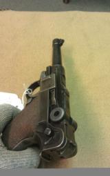 1920 DWM Luger Low serial # - 1 of 2