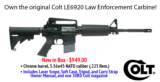 COLT LAW ENFORCEMENT 6920 M4 CARBINE - NEW IN BOX WITH ACCESSORIES