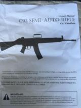 CENTURY ARMS MODEL C-93 NIB