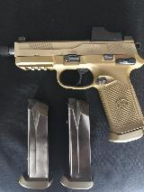 NIB FN - FNX45 TACTICAL WITH DOCTOR RED DOT SIGHT