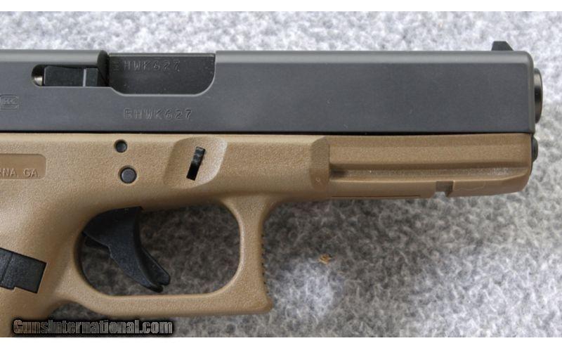 Glock ~ G17 FDE Frame ~ 9mm Para