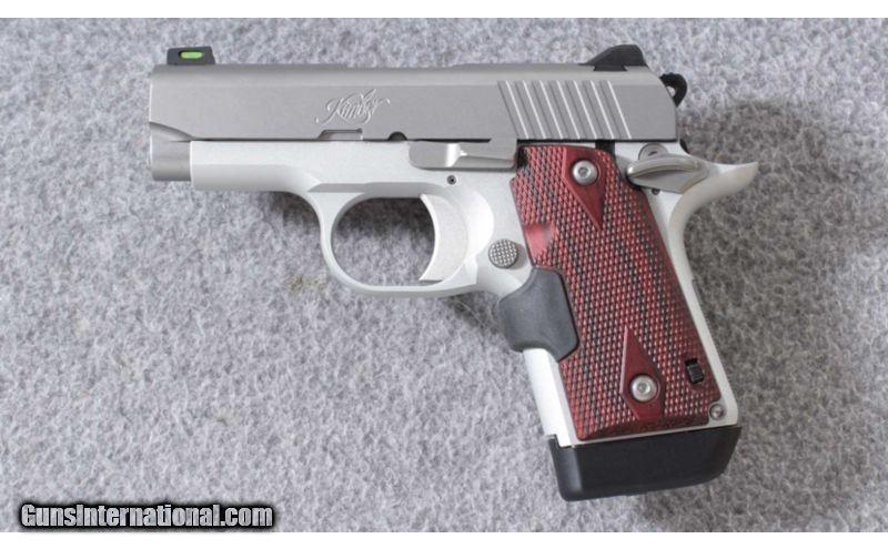 Kimber ~ Micro 9 Crimson Carry ~ 9mm Para
