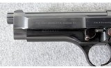 Beretta ~ Model 92 with Stepped Slide ~ 9mm Para. - 4 of 7