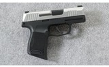 SIG Sauer ~ P365 Micro-Compact 2-Tone Stainless ~ 9mm Para.