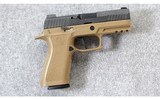 SIG Sauer ~ 320 X Carry Coyote 2 Tone ~ 9mm Para.