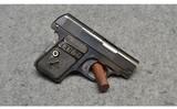 Colt ~ Model 1908 Vest Pocket Hammerless ~ .25 ACP