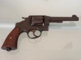 Smith and Wesson DA .45 ACP hand ejector U.S. Army Model 1917 - 1 of 10