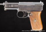 MAUSERModel 1910Semi auto pistol.25 acp (6.35mm)- 2 of 2