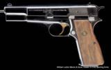 BROWNING HI POWER Centennial Edition 1878-1978 9mm Nickel in walnut presentation case - 2 of 5