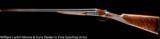 F.LLI PIOTTI Model BSEE 12ga 30