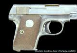 COLT 1908 VEST POCKET MODEL .25 ACP NICKLE FINISH