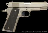 COLT SERIES 80 COMMANDER MODEL 45 ACP STAINLESS