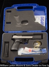 HAMMERLI (imported by Sig Sauer) Trailside .22 Target pistol AS NEW IN CASE