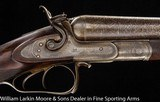 BIGGS & SPENCER Best quality English 10ga with Purdey type thumblever opening circa 1875