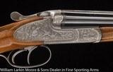 FRANZ SODIA (Ferlach) BLNE Sideplate SxS shotgun / slug gun, 20ga 27 5/8