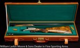 ARRIETA 803 True pair each with two sets of barrels AS NEW UNFIRED