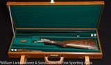 ARRIETA Model 578 Three barrel set 410ga CAsed in factory leather case AS NEW UNFIRED